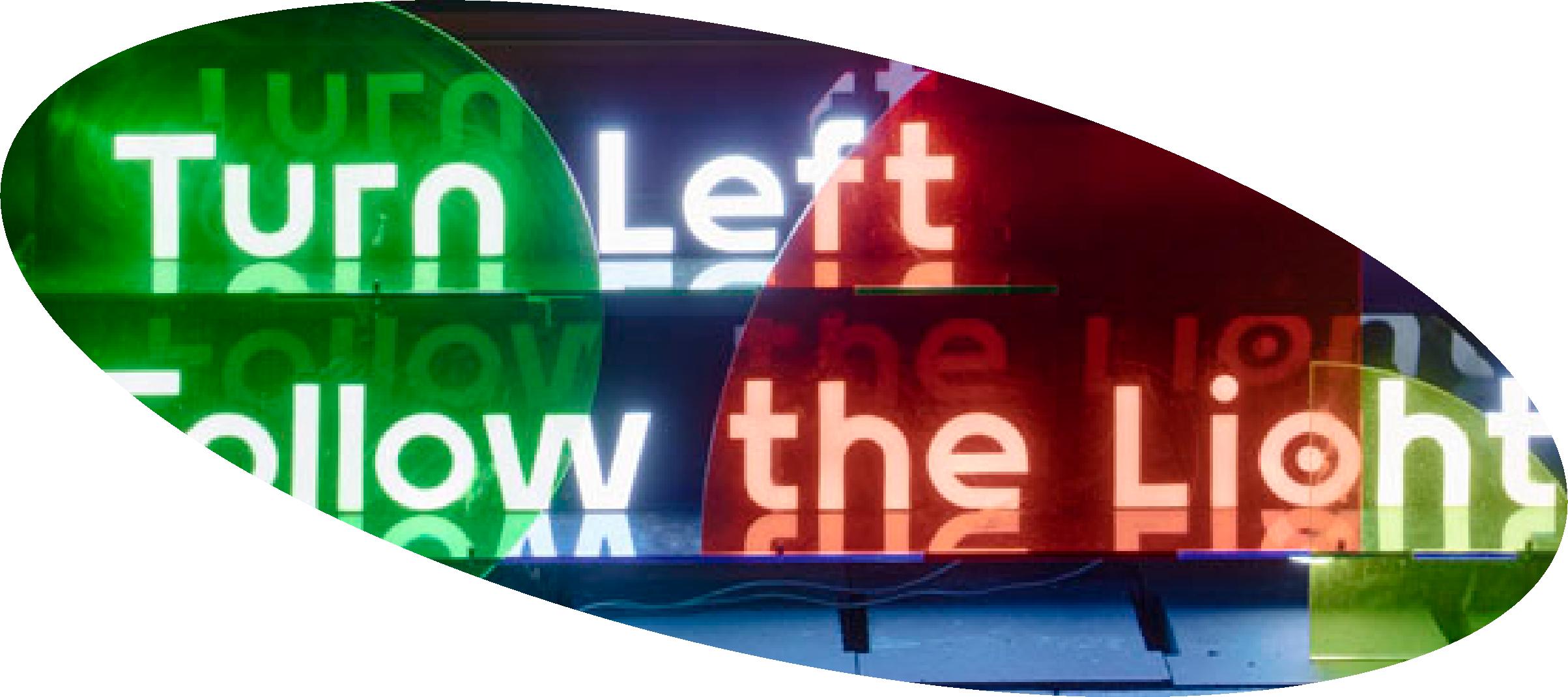 Luminous Wayfinding Signboards